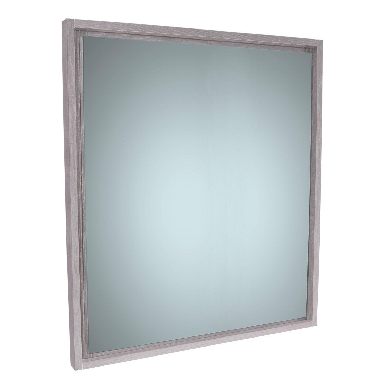 Miroir rectangulaire, l.70 x H.75 cm