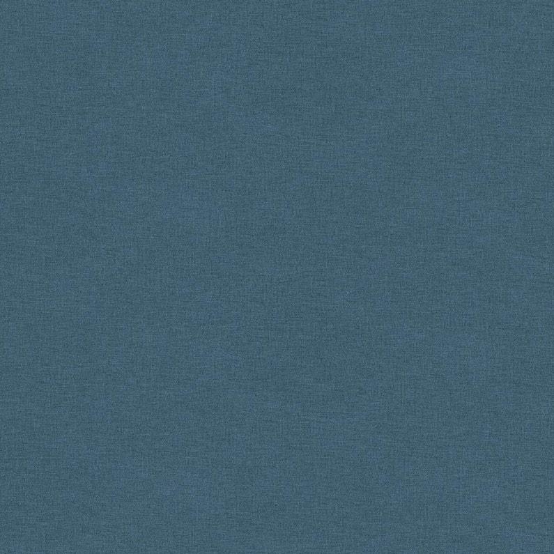 Papier Peint Intisse Uni Bensimon Bleu Bleu Leroy Merlin