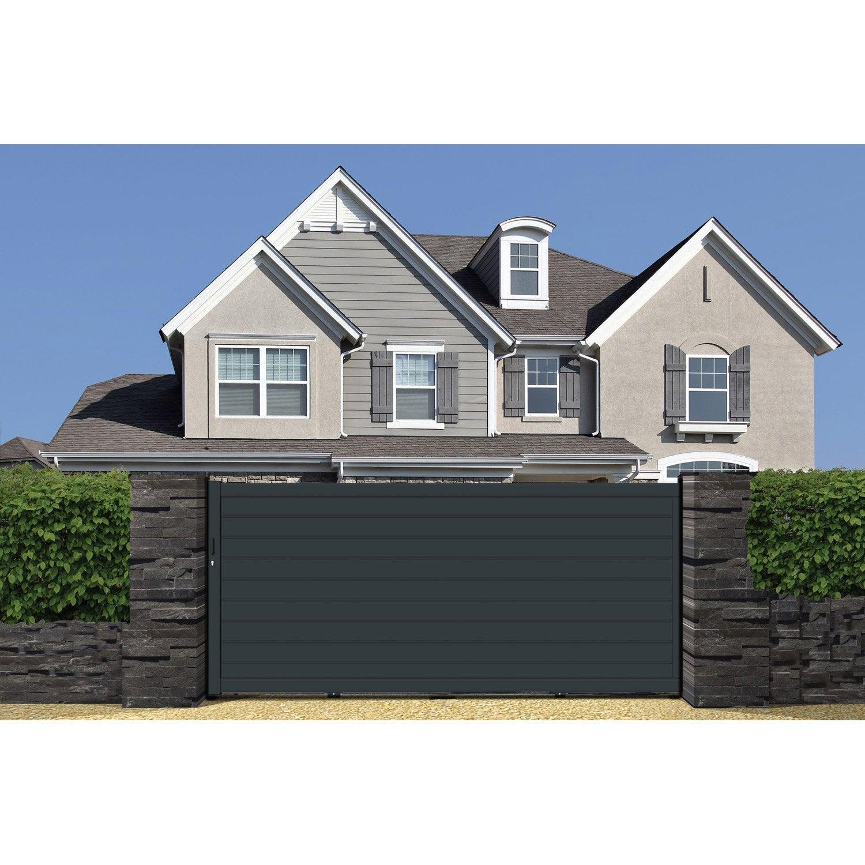 vente portail portail aluminium tritoo maison et jardin. Black Bedroom Furniture Sets. Home Design Ideas