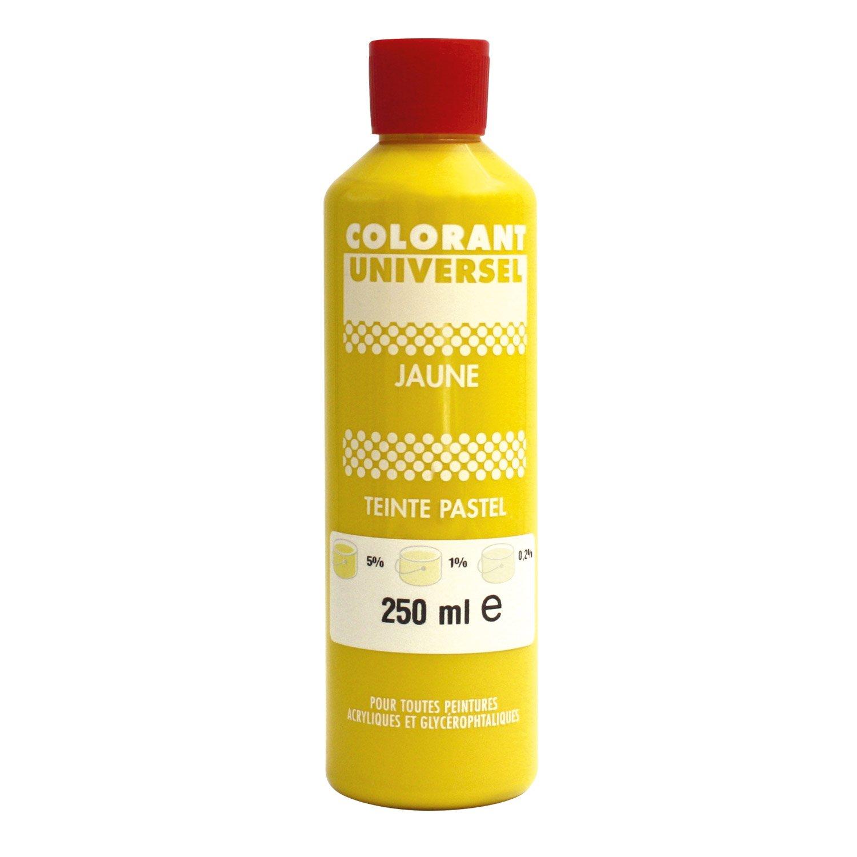 colorant universel 250 ml jaune leroy merlin. Black Bedroom Furniture Sets. Home Design Ideas