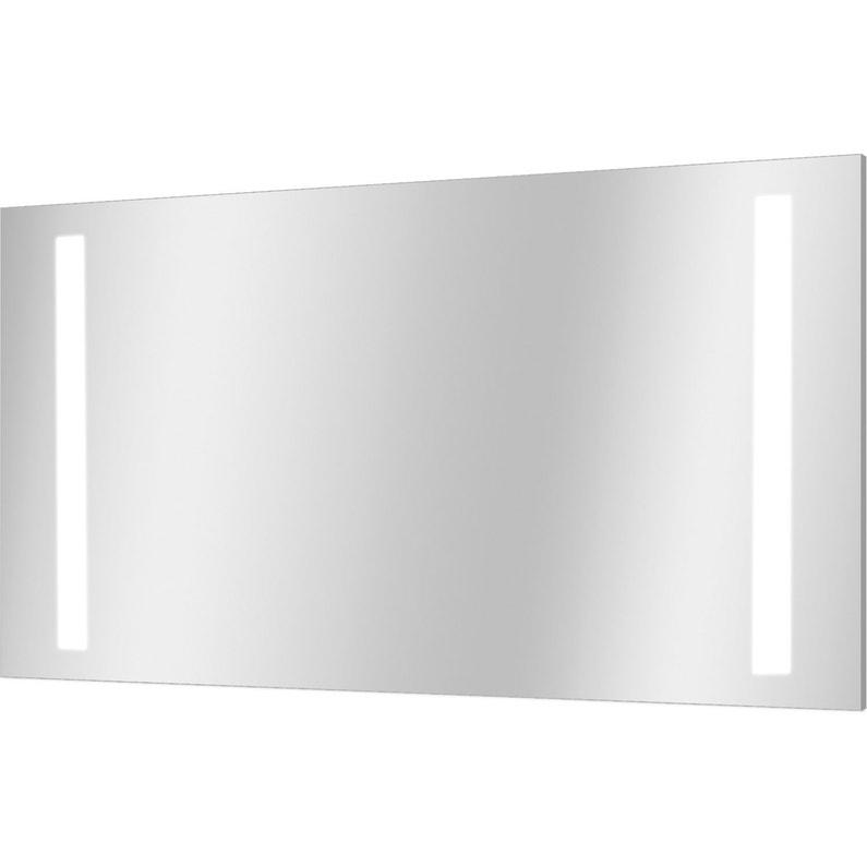 Miroir Lumineux Avec Eclairage Integre L 120 X H 70 Cm Ayo