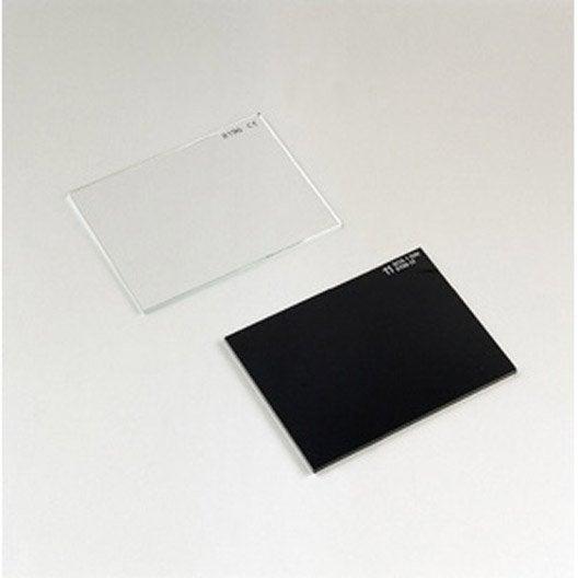 verre inactinique pour masques deca leroy merlin. Black Bedroom Furniture Sets. Home Design Ideas