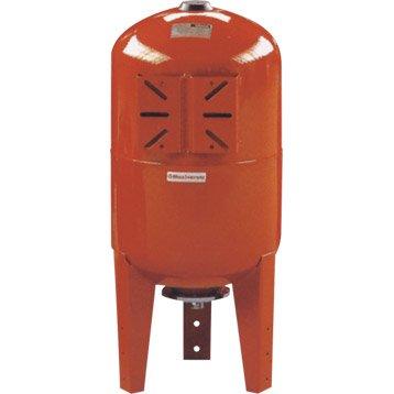 Réservoir vertical 300 L + membrane FLOTEC mâle 40 mm