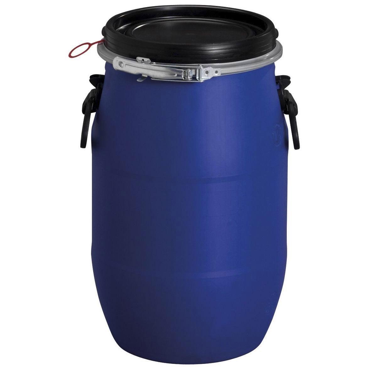 F T De Mac Ration A Rien Garantia Cylindrique Bleu 30 L Leroy Merlin
