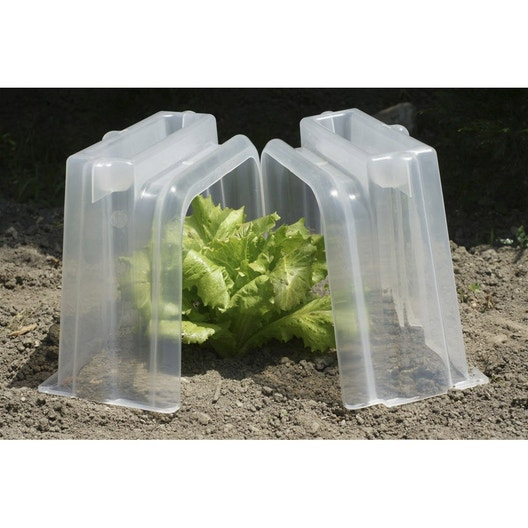 jeu de 2 embouts pour tunnel de for age pouss vert leroy merlin. Black Bedroom Furniture Sets. Home Design Ideas