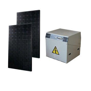 Kit solaire complet Power WATT&HOME 370W, onduleur 1000W, batterie 300Ah