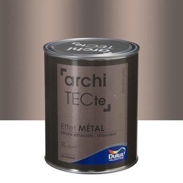 Peinture à effet, Architecte effet métal DULUX VALENTINE, violet améthyste, 1 l