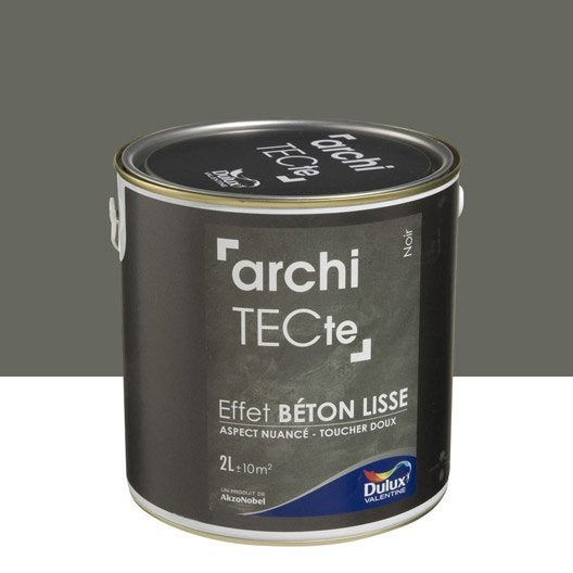 Peinture effet architecte effet b ton dulux valentine for Peinture aspect beton