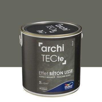 Peinture à effet, Architecte effet béton DULUX VALENTINE, noir, 2 l