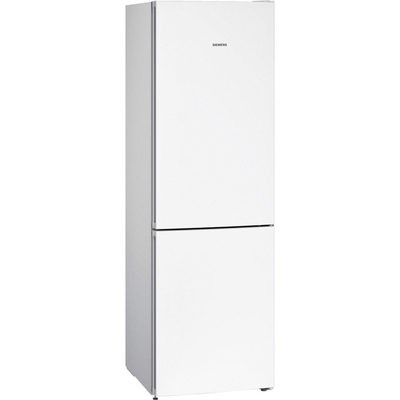 réfrigérateur à poser siemens kg36nvw35 blanc   leroy merlin