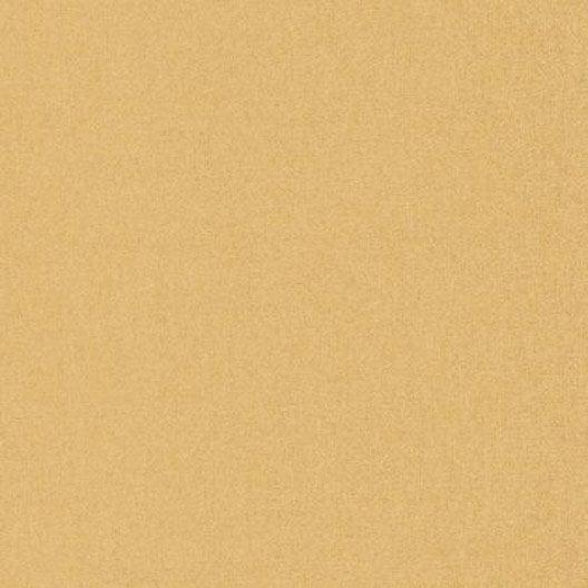 Papier Peint Uni Jaune Or Intissé Linen | Leroy Merlin