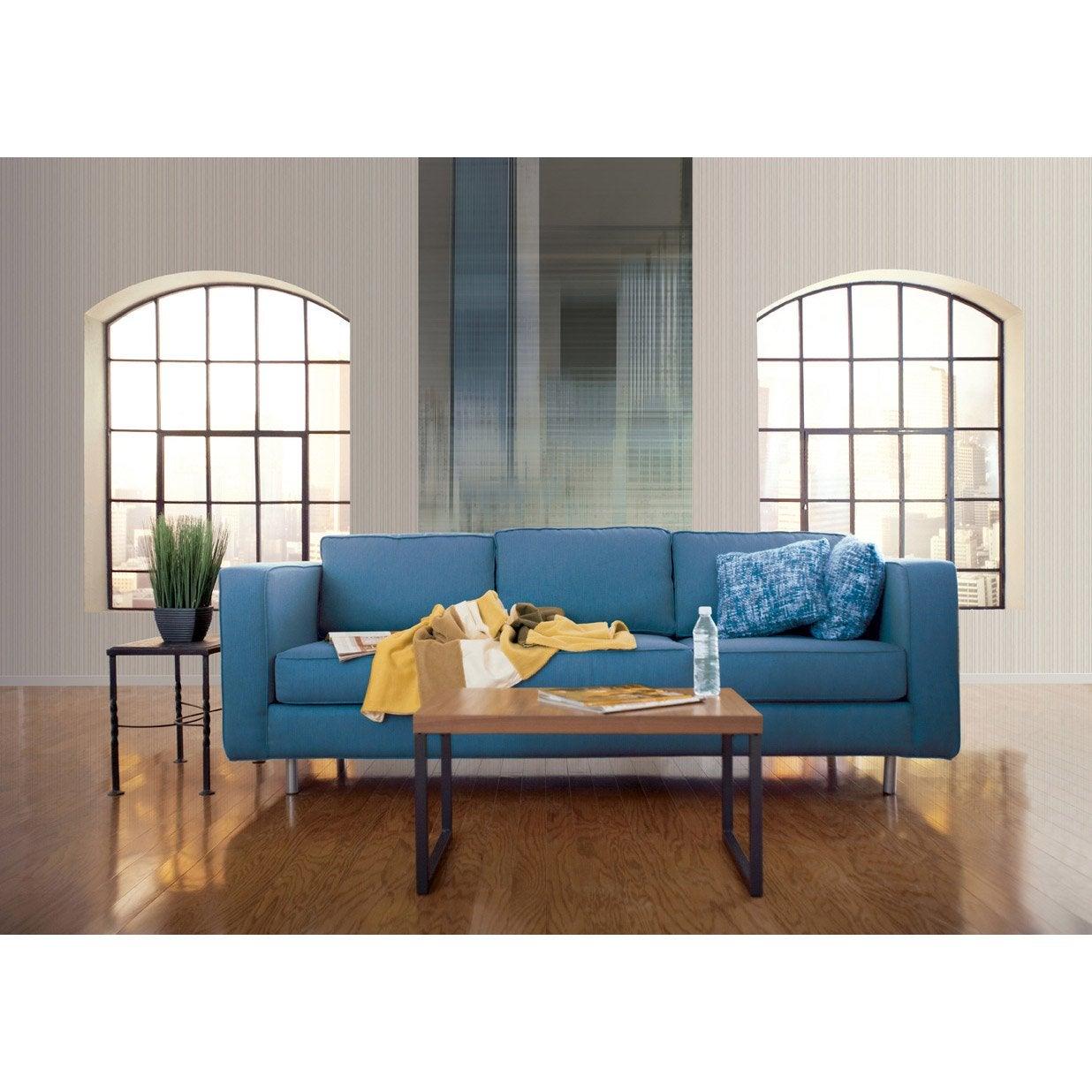 papier peint bleu gris intiss italian color leroy merlin. Black Bedroom Furniture Sets. Home Design Ideas