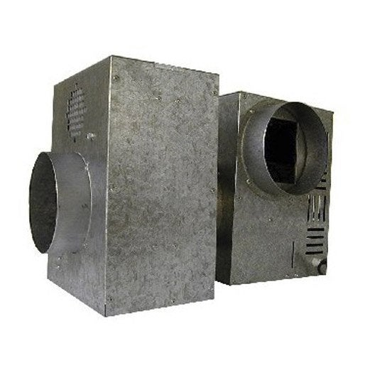 Caisson de protection pour groupe d 39 air chaud dmo diam tre 125 mm leroy merlin - Extracteur d air leroy merlin ...