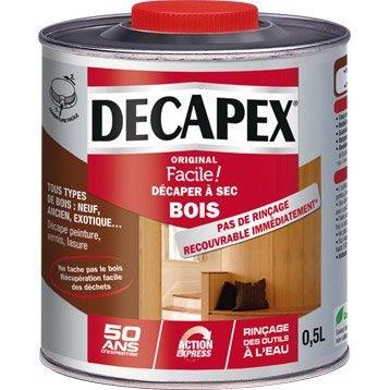 pr paration du bois d capant traitement d cireur deshuileur pour bois leroy merlin. Black Bedroom Furniture Sets. Home Design Ideas