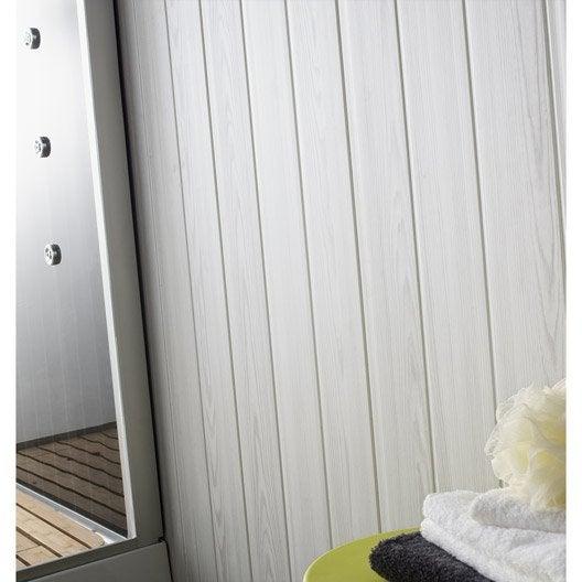 lambris pvc gris c rus mat grosfillex x cm x. Black Bedroom Furniture Sets. Home Design Ideas