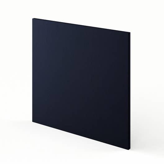 porte pour lave vaisselle de cuisine bleu topaze x cm leroy merlin. Black Bedroom Furniture Sets. Home Design Ideas