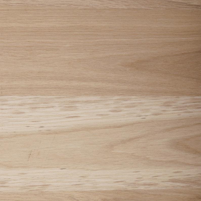 3dc5b13f7f8 Tablette chêne pleine lame, L.250 x l.60 cm x Ep.20 mm | Leroy Merlin