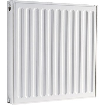 Radiateur chauffage central Simple blanc, l.60 cm, 794 W