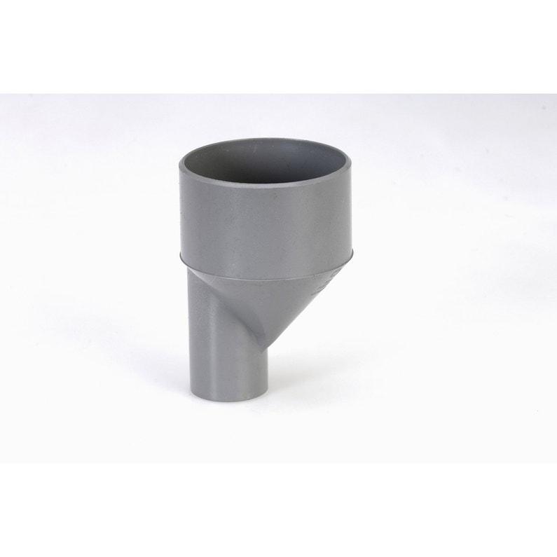 Tampon De Réduction Mâle Femelle Pvc Diam10075 Mm Girpi