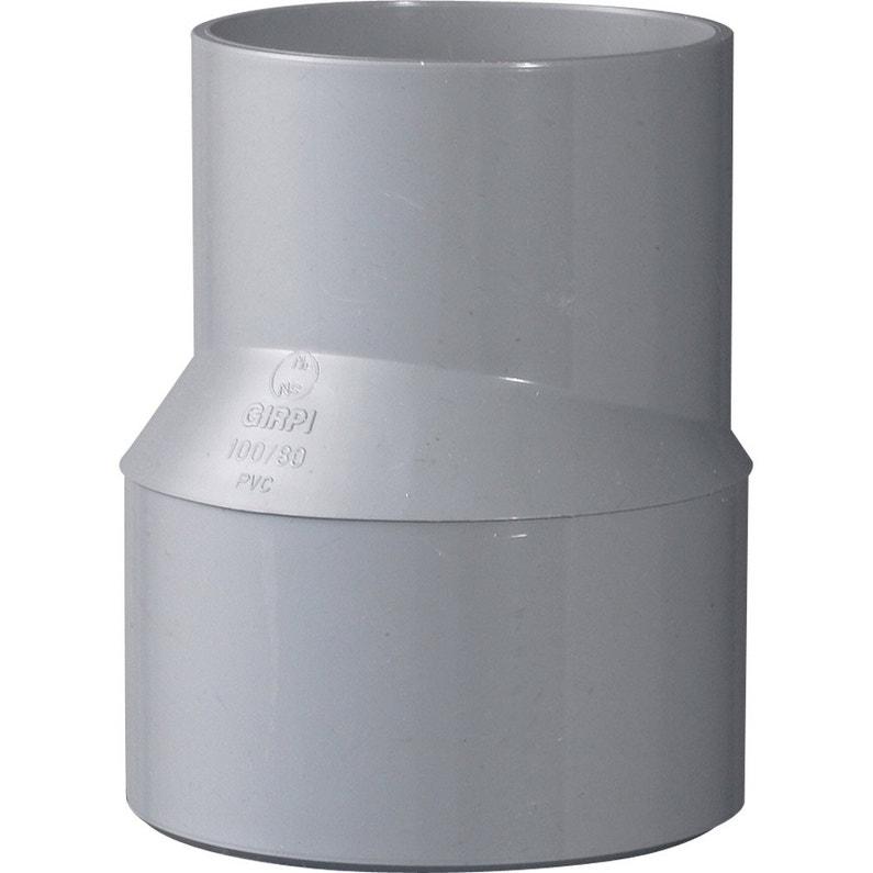 Tampon De Réduction Mâle Femelle Pvc Diam10080 Mm Girpi