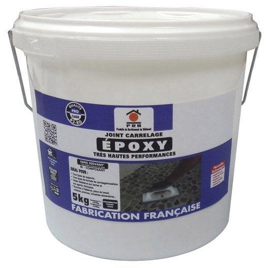 joint poxy pour carrelage et mosa que prb gris argent 5 kg leroy merlin. Black Bedroom Furniture Sets. Home Design Ideas