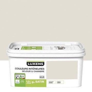 Peinture blanc lin 2 LUXENS Couleurs intérieures 2.5 l