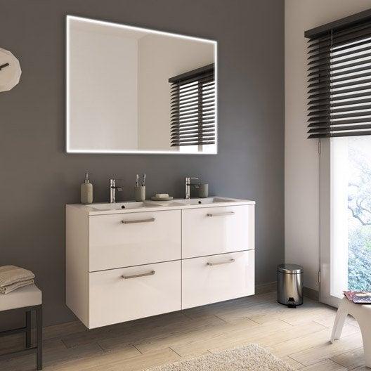 meuble de salle de bains plus de 120 blanc beige naturels neo line leroy merlin. Black Bedroom Furniture Sets. Home Design Ideas