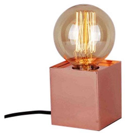 lampe e27 kubi sampa helios 60 w leroy merlin. Black Bedroom Furniture Sets. Home Design Ideas