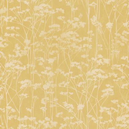 Papier Peint Vinyle Sherwood Forêt Jaune Irisé