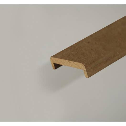 nez pour cloison de 100 mm en mdf pr peint l 2 50 m leroy merlin. Black Bedroom Furniture Sets. Home Design Ideas