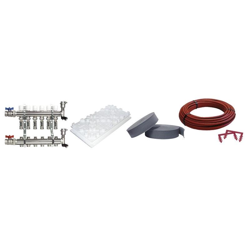 Kit 1 M² Plancher Chauffant Basse Temp Easyfloor 75bao 50 M² R 075