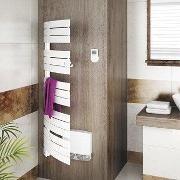 Sèche-serviettes électrique soufflerie SAUTER Venise pivotant 3CS 500+1000W