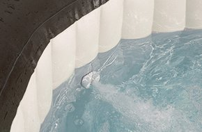 Spa Gonflable Intex Pure Spa Jets Bulles Octogonale 4 Places