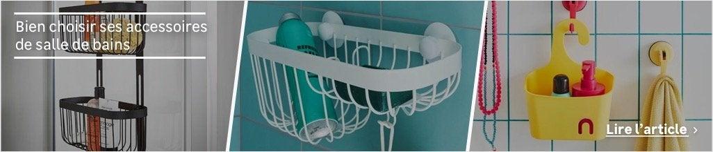 Étagère de douche - Accessoires et miroirs de salle de bains ...