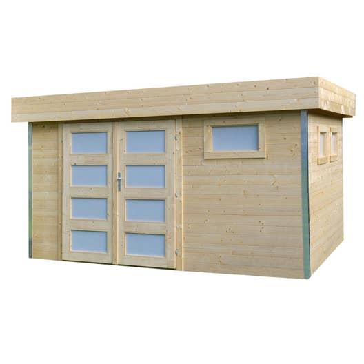 abri de jardin comfy m mm leroy merlin. Black Bedroom Furniture Sets. Home Design Ideas