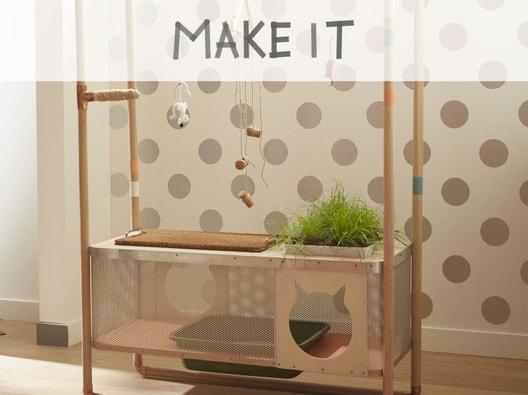 diy cr er un arbre chat. Black Bedroom Furniture Sets. Home Design Ideas