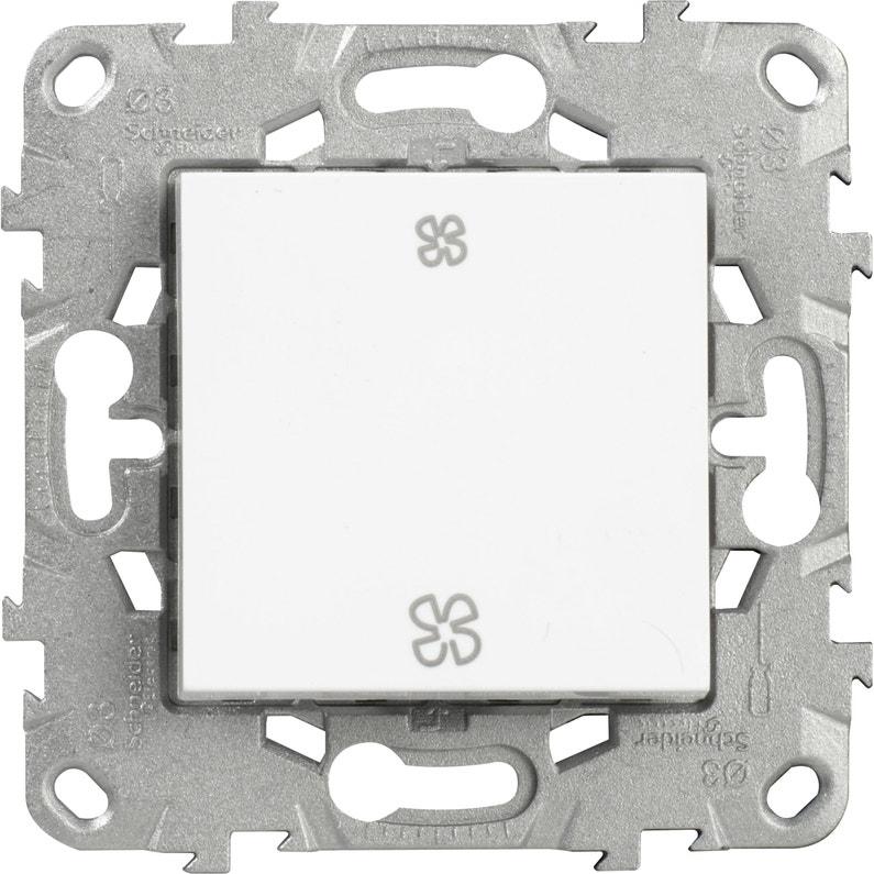 Commande Vmc Unica Schneider Electric Blanc