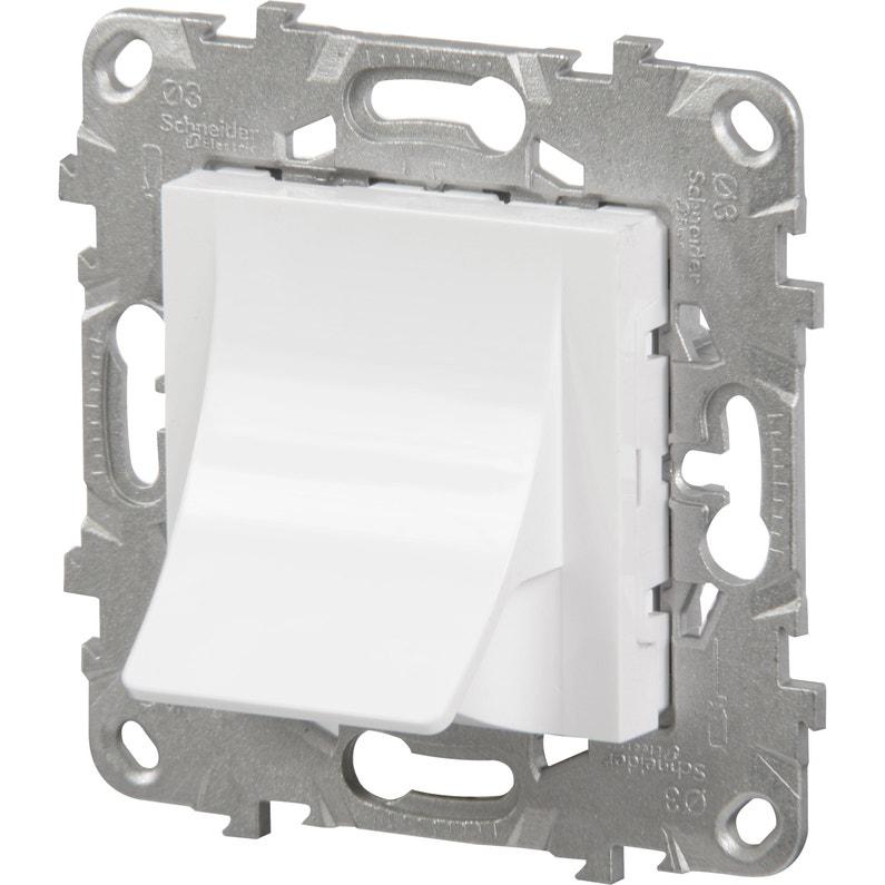 Sortie De Câble Unica Schneider Electric Blanc