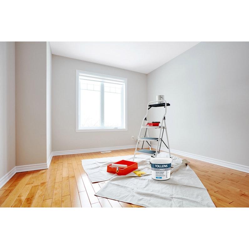 Peinture Tollens Mur Et Plafond Tolpro Hydro Blanc Mat 10 L
