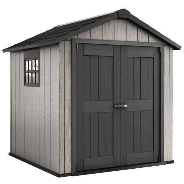 abri de jardin polypropyl ne oakland 757 mm m. Black Bedroom Furniture Sets. Home Design Ideas