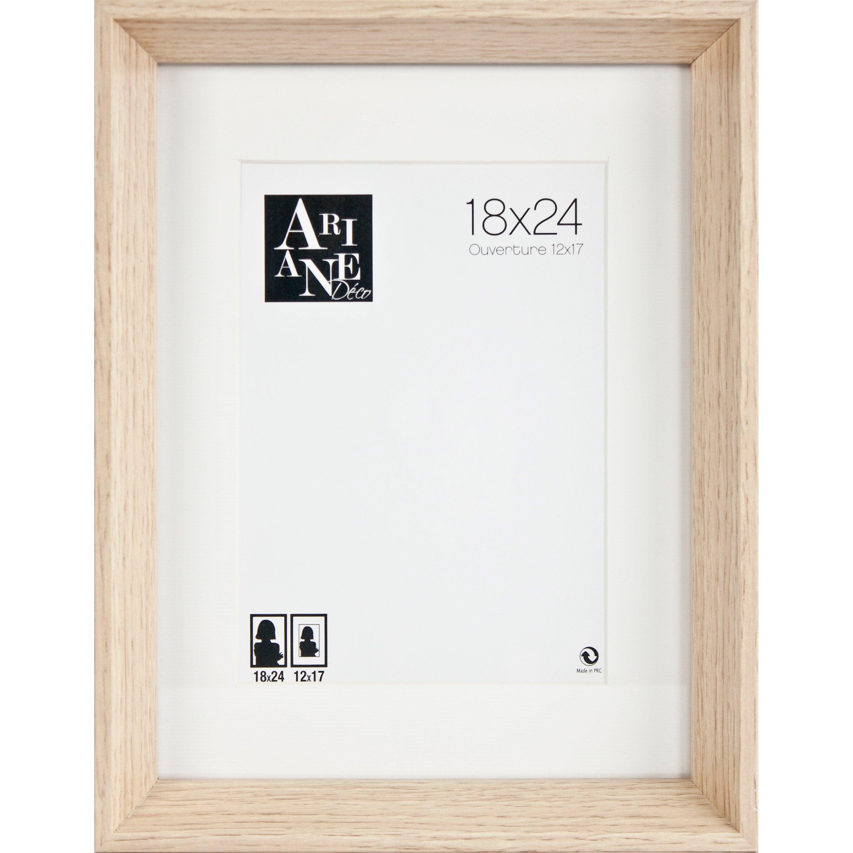 Cadre Milano, chêne clair, 18 x 24 cm
