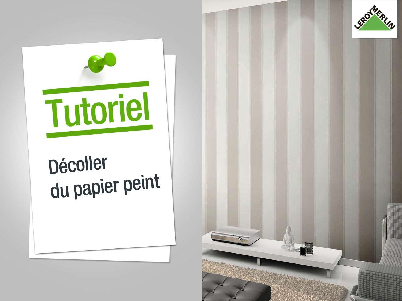 Comment Décoller Du Papier Peint ?