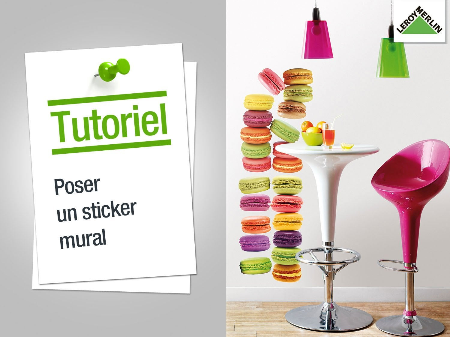 Comment poser un sticker mural ?