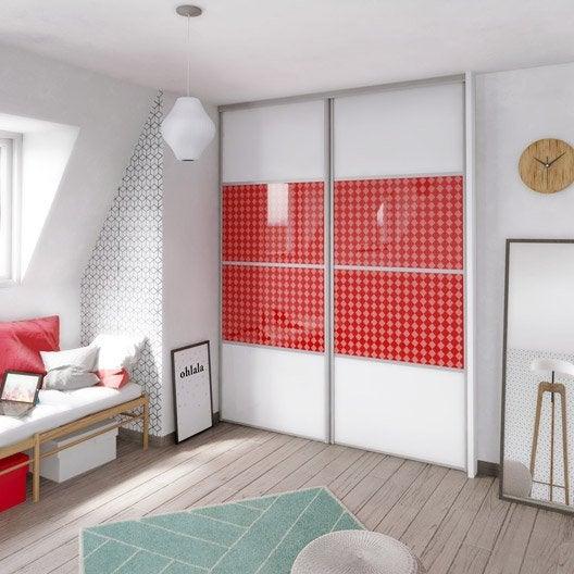 porte de placard composer personnalisable et recoupable. Black Bedroom Furniture Sets. Home Design Ideas