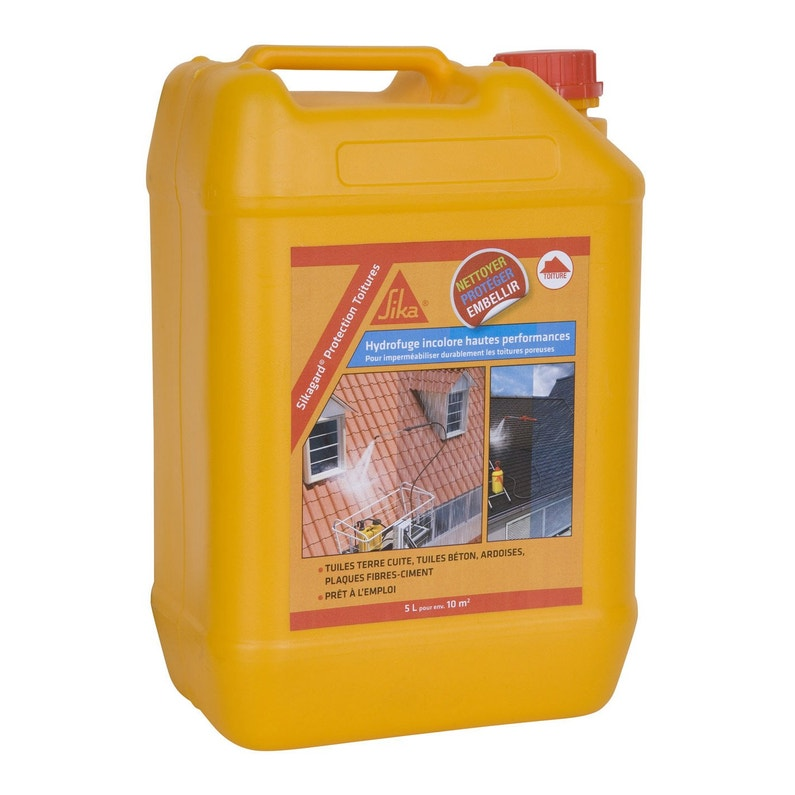 Imperméabilisant Sika Sikagard 5 L Incolore
