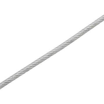 Câble gainé STANDERS, Diam.2.9 mm x L.15 m