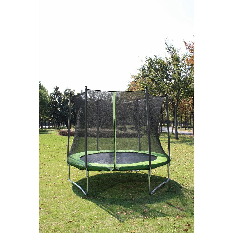 trampoline diam 305 cm noir leroy merlin. Black Bedroom Furniture Sets. Home Design Ideas