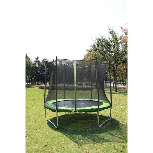 trampoline ext rieur pour enfants au meilleur prix leroy merlin. Black Bedroom Furniture Sets. Home Design Ideas