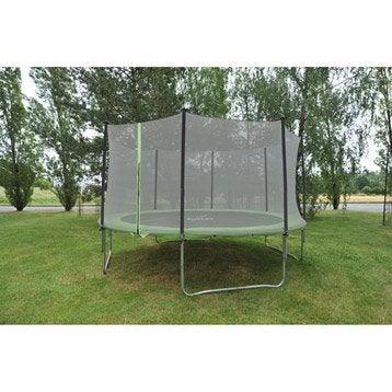 Trampoline Diam. 365 cm, noir