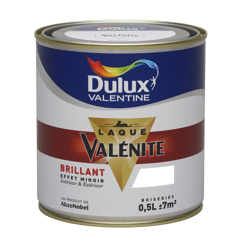 Peinture blanc brillant dulux valentine val nite 0 5 l - Peinture blanc laque brillant ...